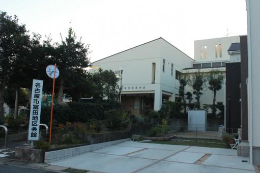 富田地区会館 外壁塗装
