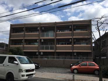 愛知県一宮市の外壁塗装工事の施工前の写真