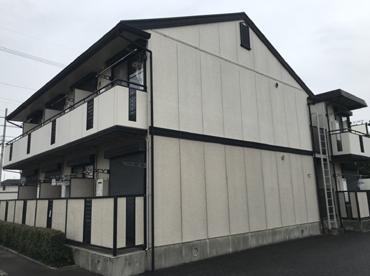 愛知県の外愛知県名古屋市の壁塗装工事の施工前の写真