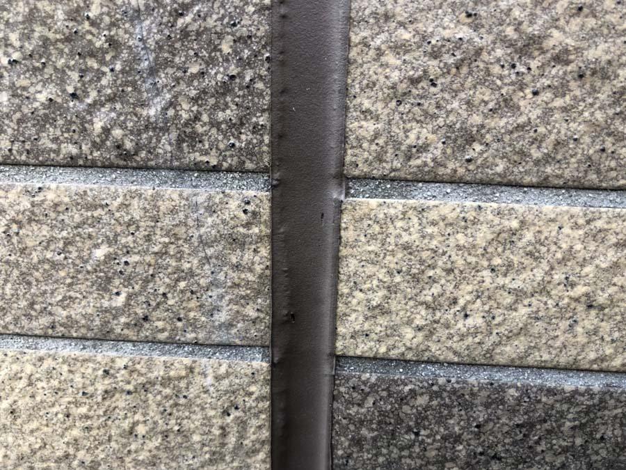 愛知県一宮市の外壁塗装工事のシーリング加工