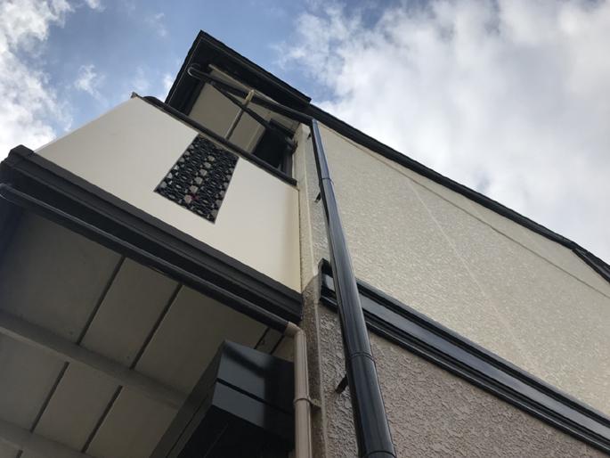 名古屋市の外壁塗装工事の塗装後の写真