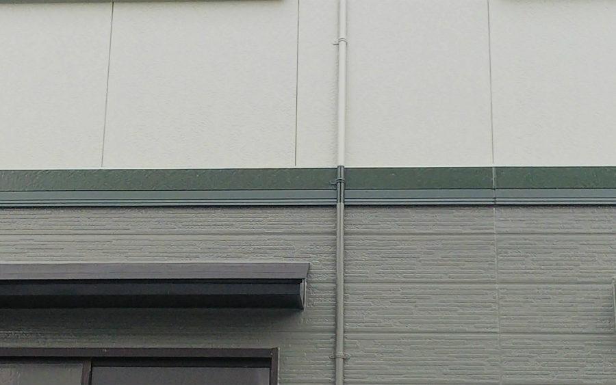 愛知県の外壁塗装工事の塗り分け