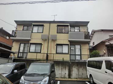 岐阜県可児市の外壁塗装工事の施工前の写真