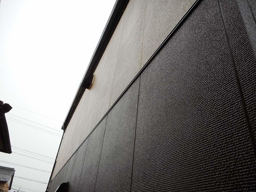 岐阜県可児市の外壁塗装工事の塗り分け