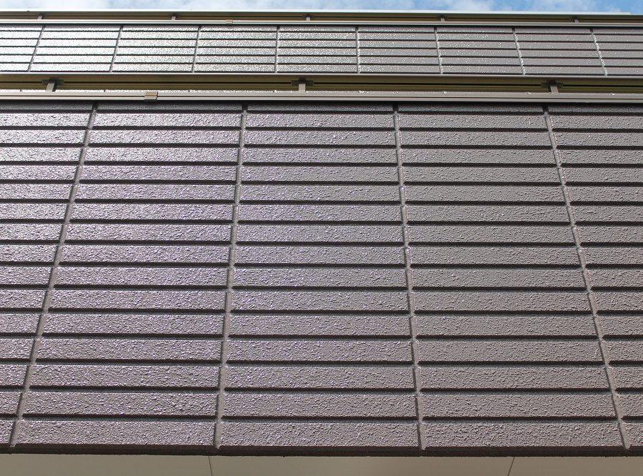 外壁塗装工事の外壁の塗装後の写真