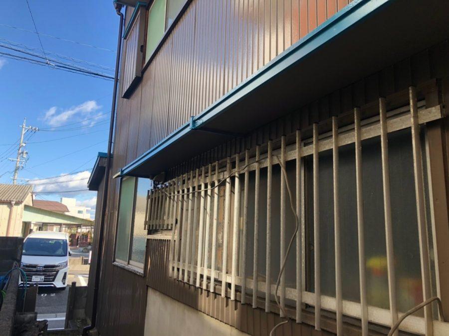 愛知県豊田市の外壁塗装工事の格子の塗装後