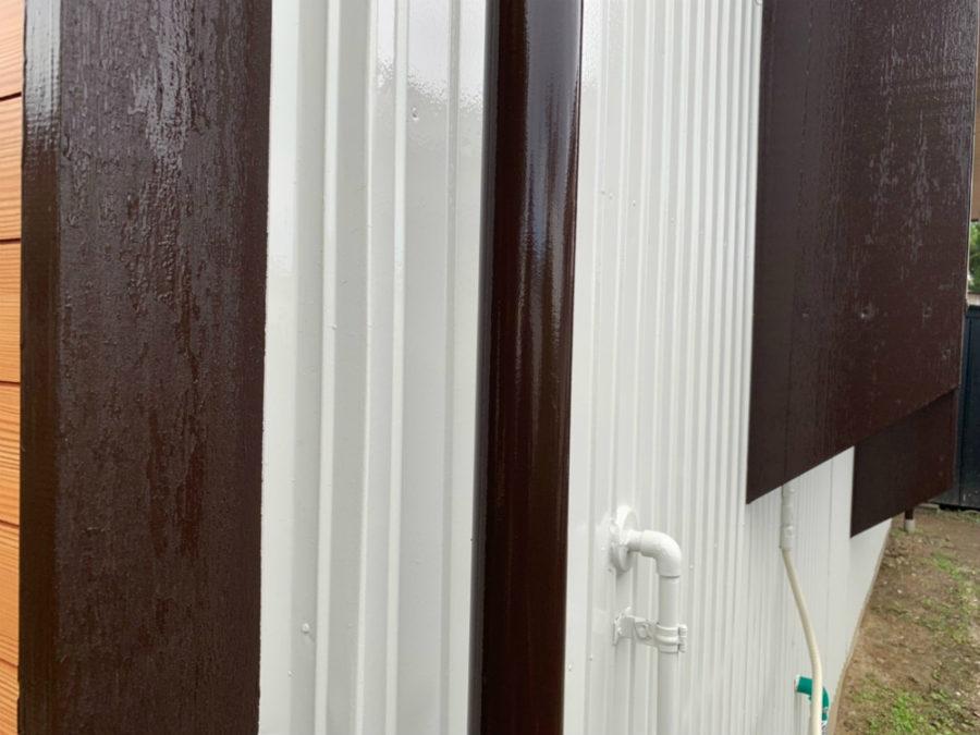 愛知県の外壁塗装工事のトイの塗装後