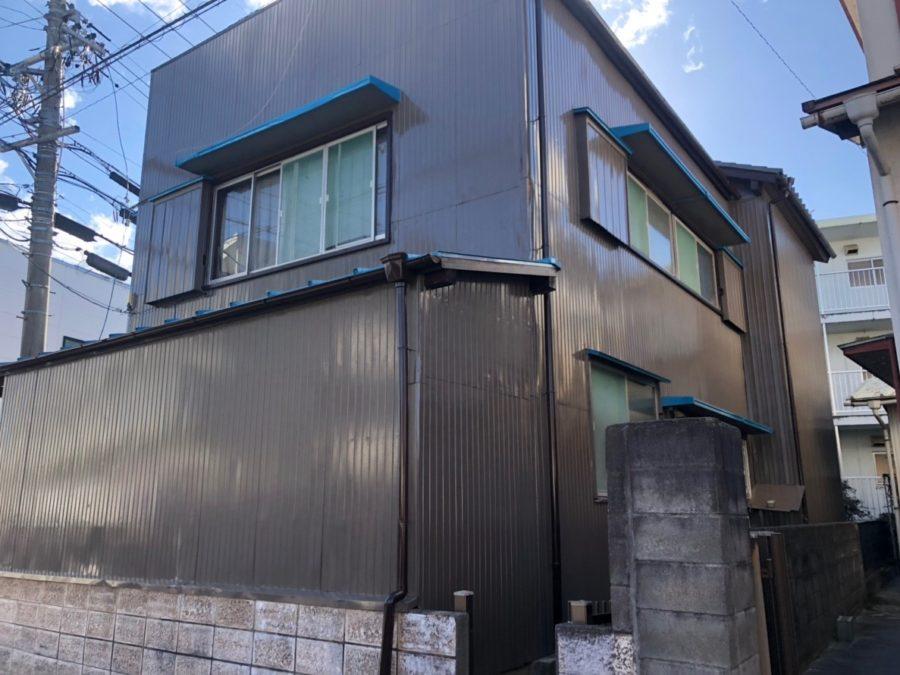 愛知県豊田市の外壁塗装工事の塗装後の写真